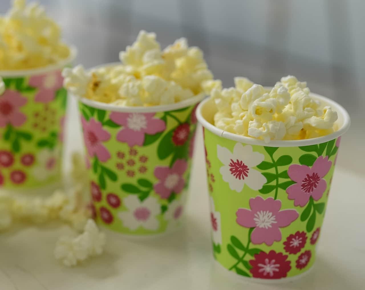 popcorn, mug, corn